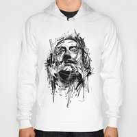 dali Hoodies featuring Dali by nicebleed