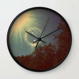 Sun Beam. Wall Clock