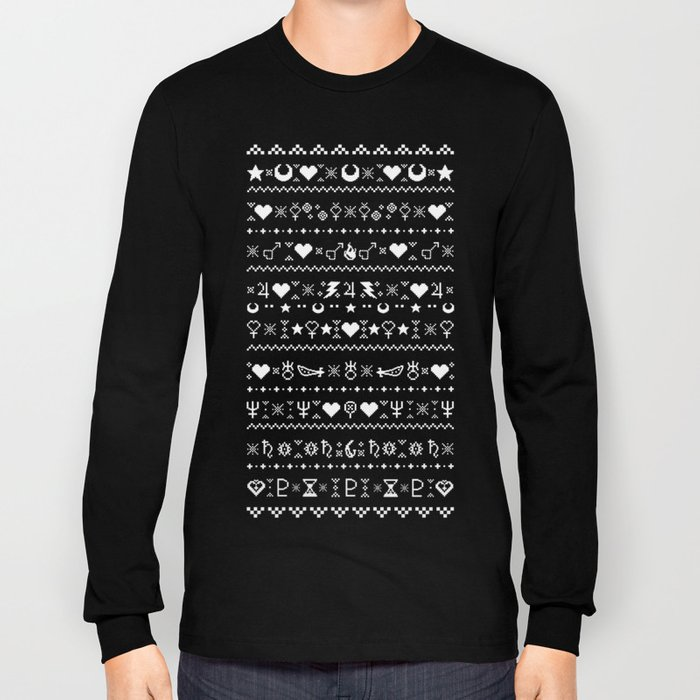 Sailor Moon Christmas Sweater.Sailor Moon Christmas Sweater Long Sleeve T Shirt By Embarrassedjam
