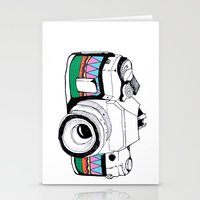 camera Stationery Cards featuring Camera by Mariam Tronchoni