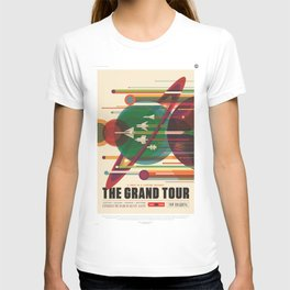 The Grand Tour : Vintage Space Poster T-shirt