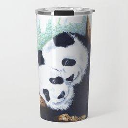 The Panda Couple Travel Mug