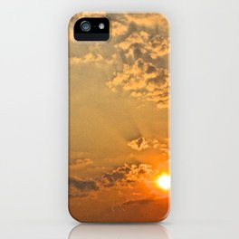 Sunset in the Clouds - The Peace Collection iPhone Case