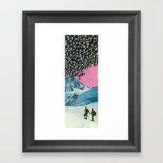 Get Your Bearings Framed Art Print