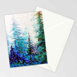 BLUE MOUNTAIN PINES LANDSCAPE Stationery Cards
