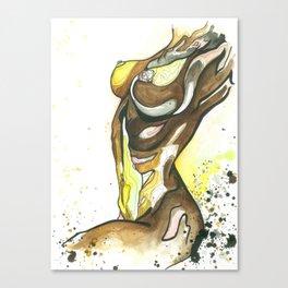 Golden Goddess Canvas Print