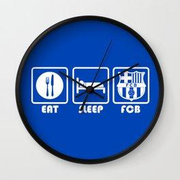 ESP: Barcelona Wall Clock