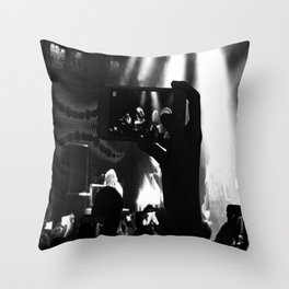 Are You Listening? Throw Pillow