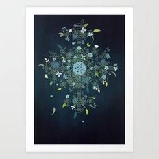 Fractal Spring Art Print