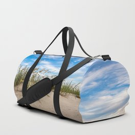 Sand Dunes and Sea Oats - Coastal Beach Scenery in South Carolina Duffle Bag