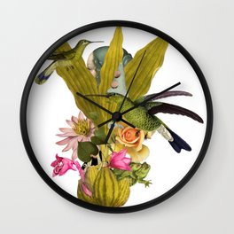 Magic Garden VII Wall Clock