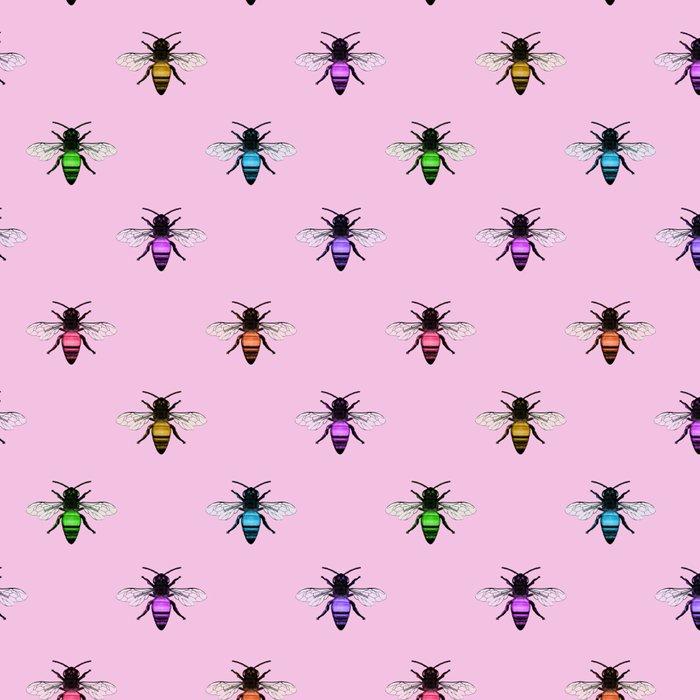 Rainbow Bumble Bees Leggings