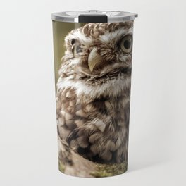 Nature woodland birds Owl bekon light Travel Mug