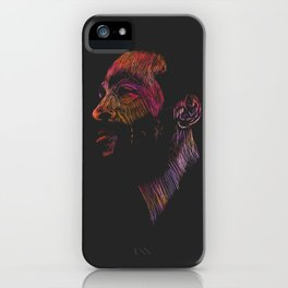 Marvin Gaye Color version iPhone Case