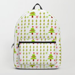 Christmas tree 4 Backpack