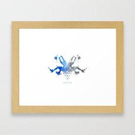 Magic Rorshaq Framed Art Print