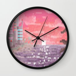 8-bit Bay Wall Clock
