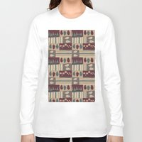 quilt Long Sleeve T-shirts featuring Quilt by Molly Smisko