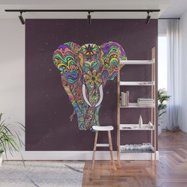 Not a circus elephant Wall Mural