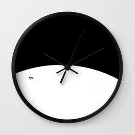 White Circle #minimalism #kirovair #minimal #design Wall Clock