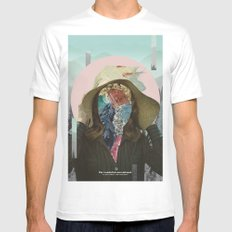 The Wonderful Conventional White MEDIUM Mens Fitted Tee