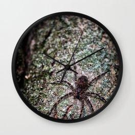 Creepy Spider Wall Clock