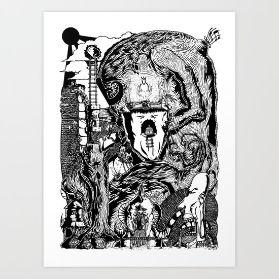 My World Art Print