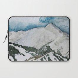 Snowmass Ski Area Watercolor Laptop Sleeve