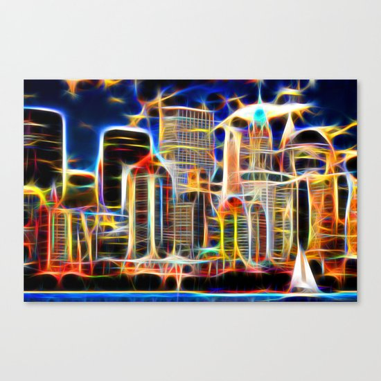 NY. Manhattan Canvas Print