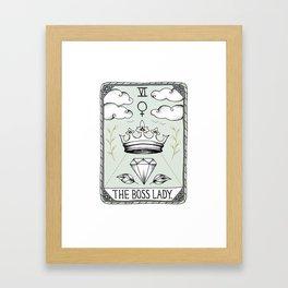 The Boss Lady Framed Art Print