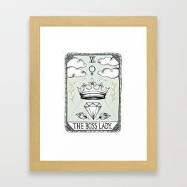 The Boss Lady Framed Art Print