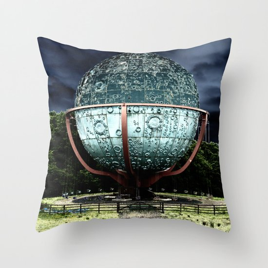 Swing Around The world Throw Pillow
