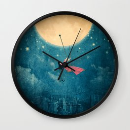 While the city sleeps... Wall Clock