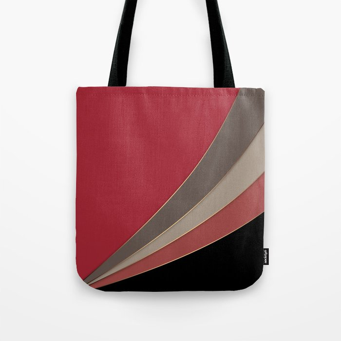 22 Abstract geometric pattern Tote Bag