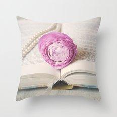Bookmark Throw Pillow