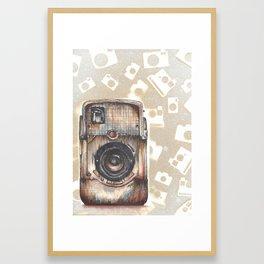 Brownie Bullseye Camera Framed Art Print