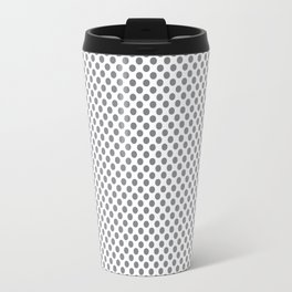 Sharkskin Polka Dots Travel Mug