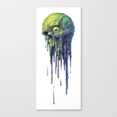 Slime Ball Canvas Print