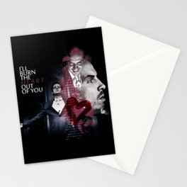 I ll burn the heart out of you Stationery Cards