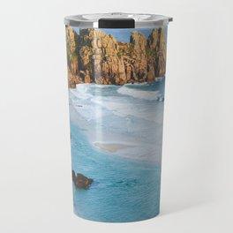 Cornish Coastal Sunset Travel Mug