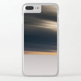 DARK LIGHT Clear iPhone Case