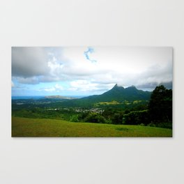 oahu green Canvas Print
