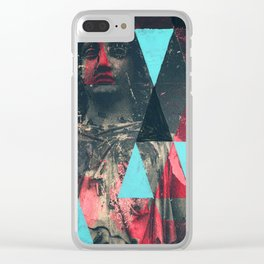 Two Ladies Clear iPhone Case