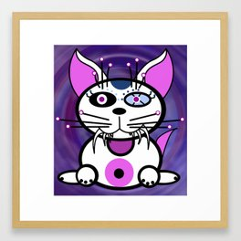 Kitt-Katt Demonimals Framed Art Print