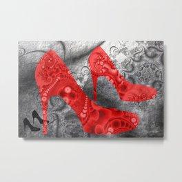 fractal highheels -2- Metal Print