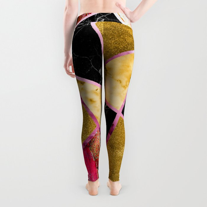 Abstract #456 Leggings