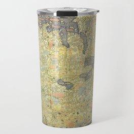 The Fra Mauro World Map Circa 1450 Travel Mug
