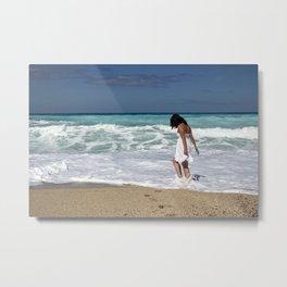 Sea art Metal Print