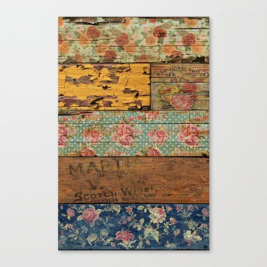Barroco Style Canvas Print