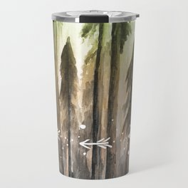 Ombre Forest Travel Mug